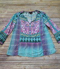 "Multiples ""Sandlin"" #M38313TMuu Top"