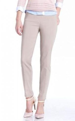 Slim Sation #M2623P Slim Form Stone Ankle Pant/Back Pockets