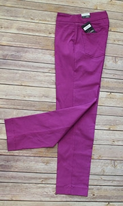 Slim Sation #M2623PM Slim Form Magenta Pant