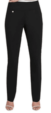 Slim Sation #M38711PMblk Relaxed Leg Pant
