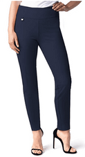 Slim Sation #M48716PM Midnight Ankle Pant