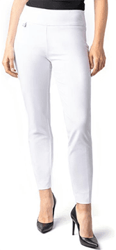 Slim Sation #M48716PMW White Ankle Pant