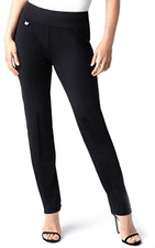 Slim Sation #M48717PMB Black Ankle Pant