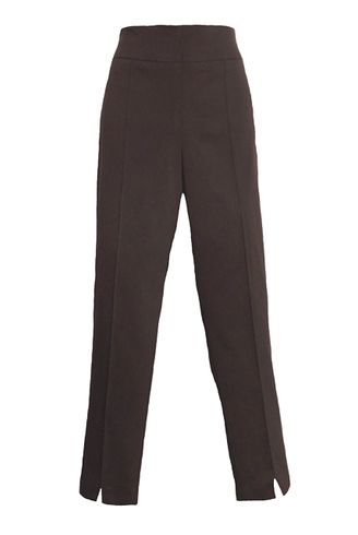 Thin Her #9827P Chocolate Ankle Pant