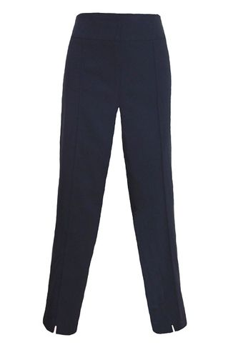 Thin Her #9827P Navy Ankle Pant