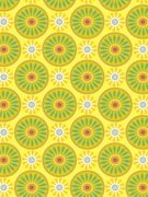 "Suzani Sunflowers 24""X417'"