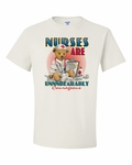Nurses are Unnnbearably Courageous Shirts