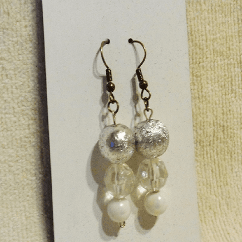 Bead Trio Earrings