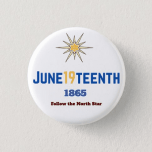 June19teenth Button