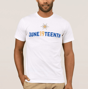 June19teenth North Star T-shirts