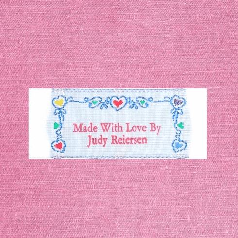 Made With Love By, Label-60