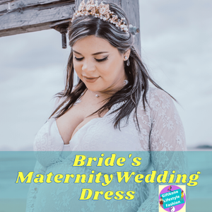 Bride's Maternity Wedding Dress
