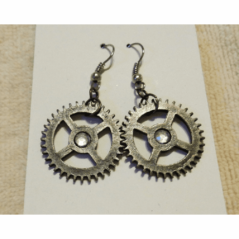 Mec Gear 2 Earrings