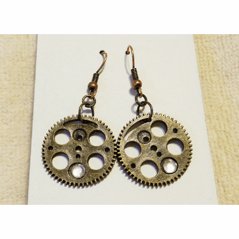 Mec Gear Earrings