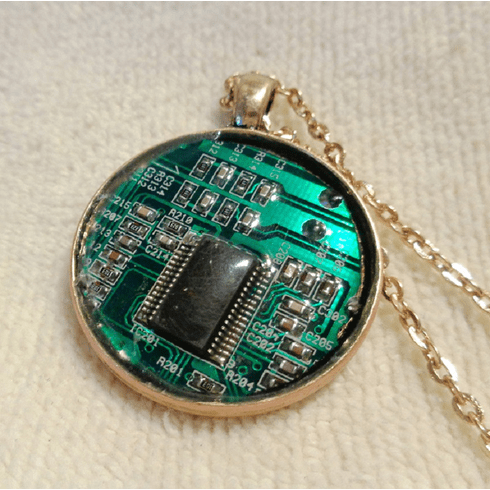 Circuitboard Necklace