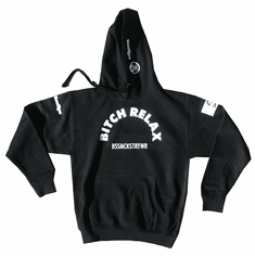 BITCH RELAX ARC PULLOVER HOODIE
