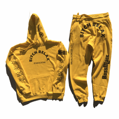 BITCH RELAX ARC YELLOW AND BLACK SUIT