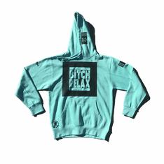 BITCH RELAX BLACK BOX TIFFANY HOODIE