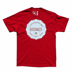 BOSSMACK AUTHENTIC RED TEE