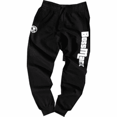 BOSSMACK GTA BLACK JOGGERS