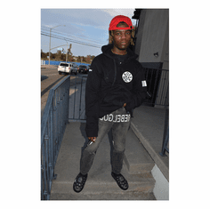 BOSSMACK RECORD HOODIE AS ROCKED BY IAN CONNOR