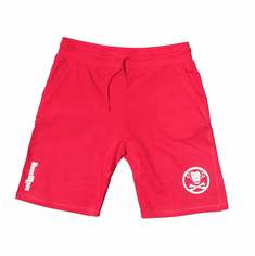 CIRCLE LOGO SHORTS RED