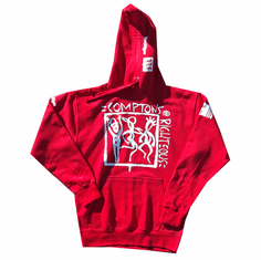 COMPTONS RIGHTEOUS  RED PULLOVER
