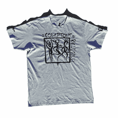 COMPTONS RIGHTEOUS HEATHER GREY TEE
