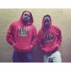 COMPTONS RIGHTEOUS RED OG HOODIE