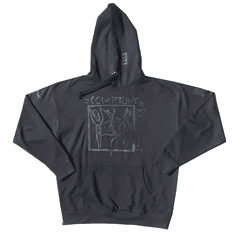 COMPTONS RIGHTEOUS X BLACK PANTHER BLACK ON BLACK HOODIE