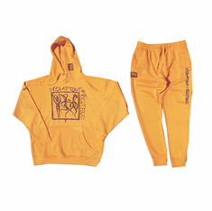 COMPTONS RIGHTEOUS YELLOW SWEATSUIT