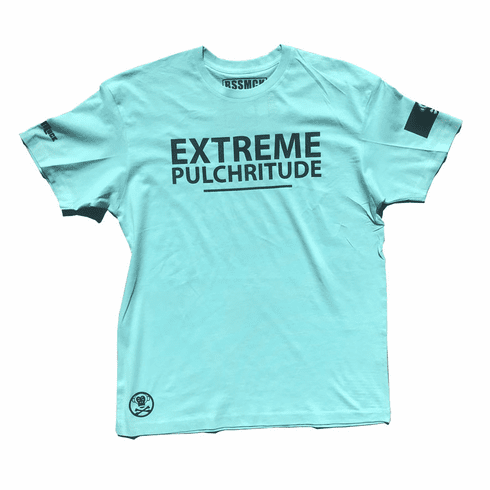 EXTREME PULCHRITUDE TIFFANY AND BLACK TEE