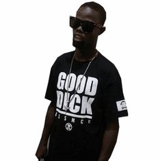 GOOD DICK BLACK TEE AS ROCKED BY @WELVENDAGREAT
