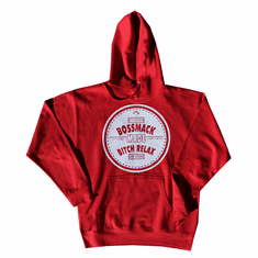 LIFE IS WHAT YOU MAKE IT RED HOODIE