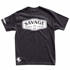 SAVAGE BLACK AND WHITE T-SHIRT