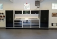 14 foot set of Aluminum Garage Cabinets