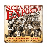 1948 Expo Metal Sign
