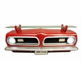 1969 Plymouth Barracuda Wall Shelf with working Lights