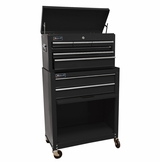 "24"" Homeowners 8 Drawer Combo Tool Box - Black"