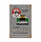25Th Ann Bakersfield Metal Sign