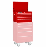 "26"" Roller Tool Cabinet 5 Drawer, Red"