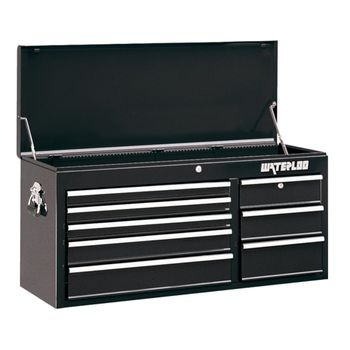 "41"" Black 8 Drawer Tool Chest with Liners"