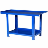 5 Foot Steel Workbench - Blue