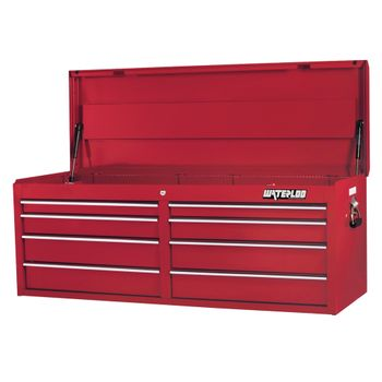 "52"" Red 8 Drawer Tool Chest with Liners"