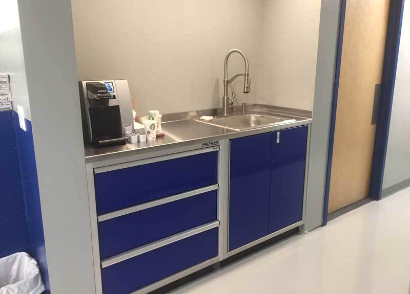 6 Foot Wide Aluminum Base Cabinets With Sink 4 Jpg