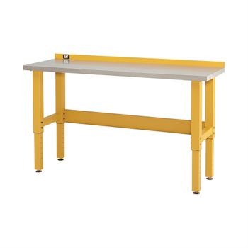 6-Foot Workbench with Stainless Steel Work Surface