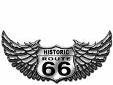 66 Bike Metal Sign