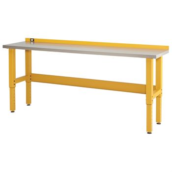 8-Foot Workbench with Stainless Steel Work Surface