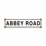 Abbey Road Metal Sign