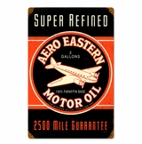 Aero Eastern Metal Sign
